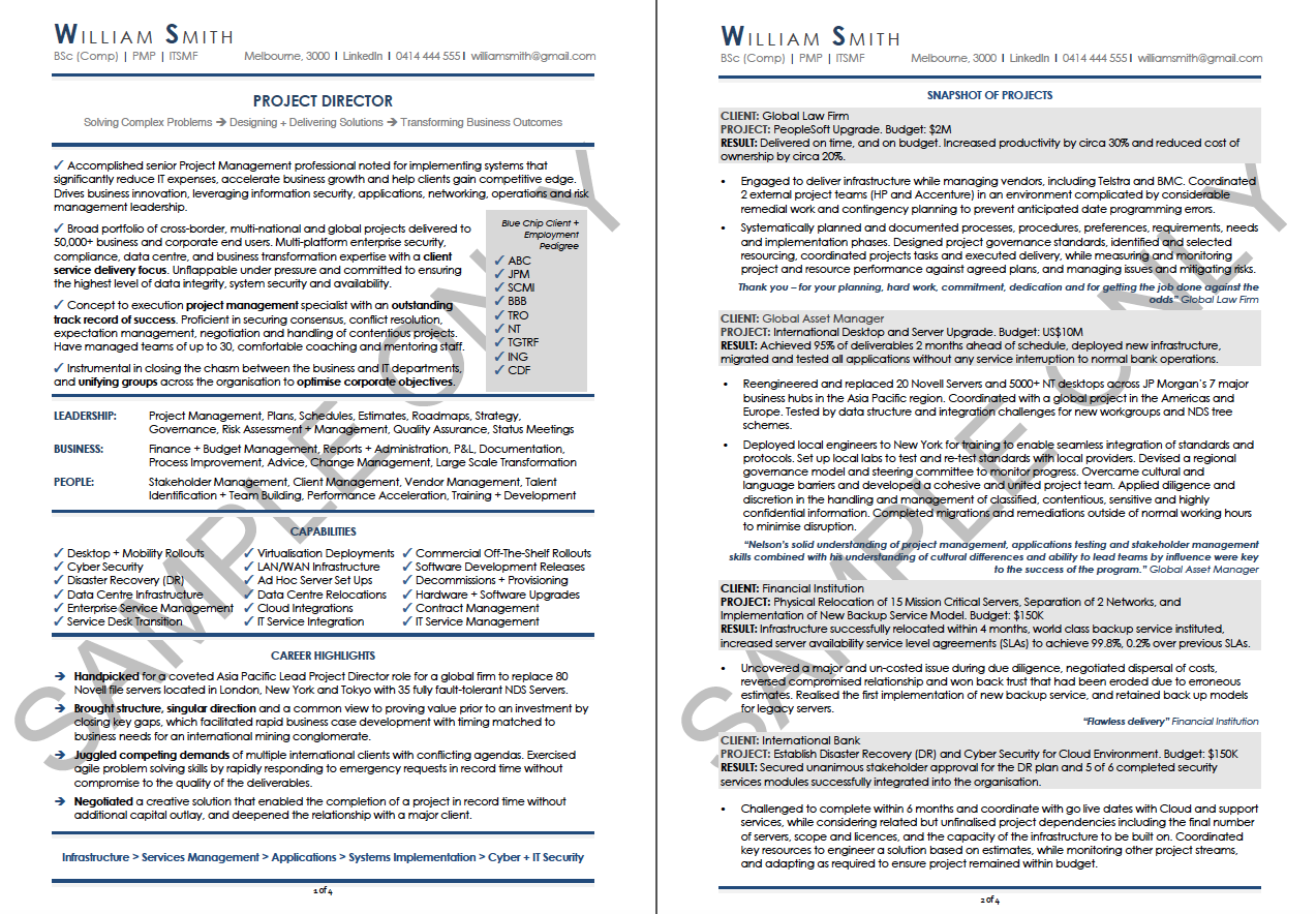 best resume examples, sales resumes, project manager resumes ...