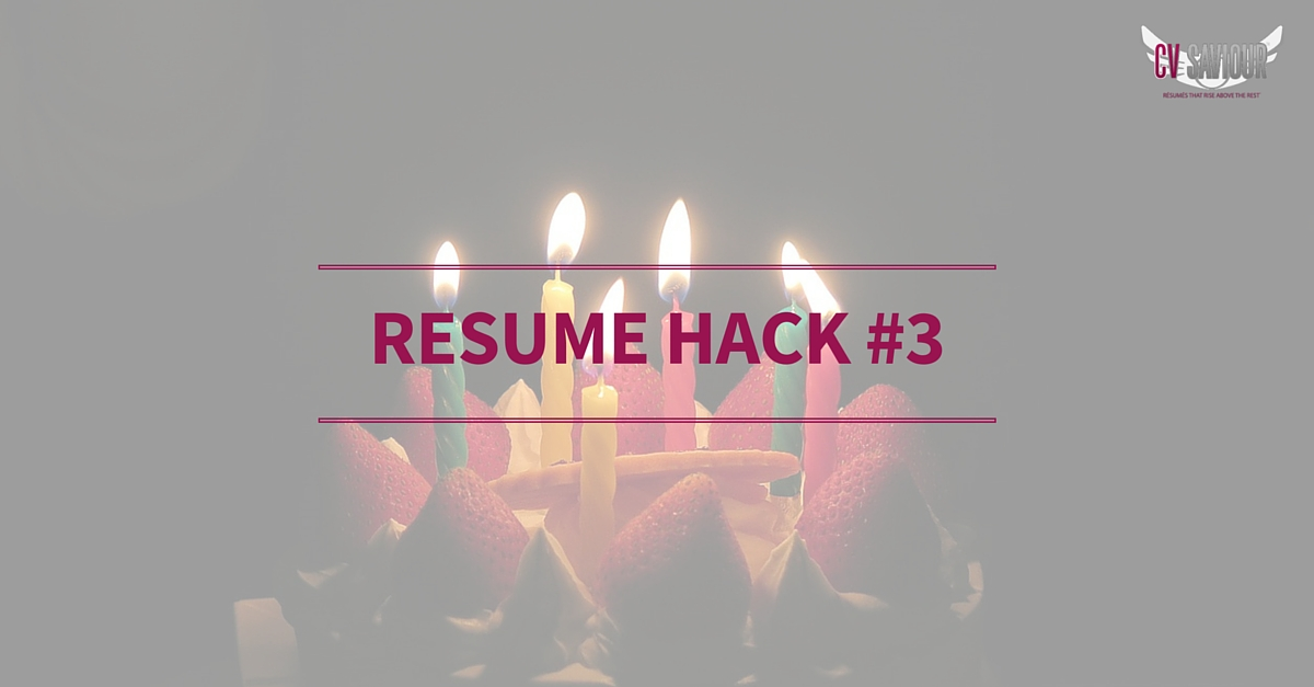 how to write date of birth in resume