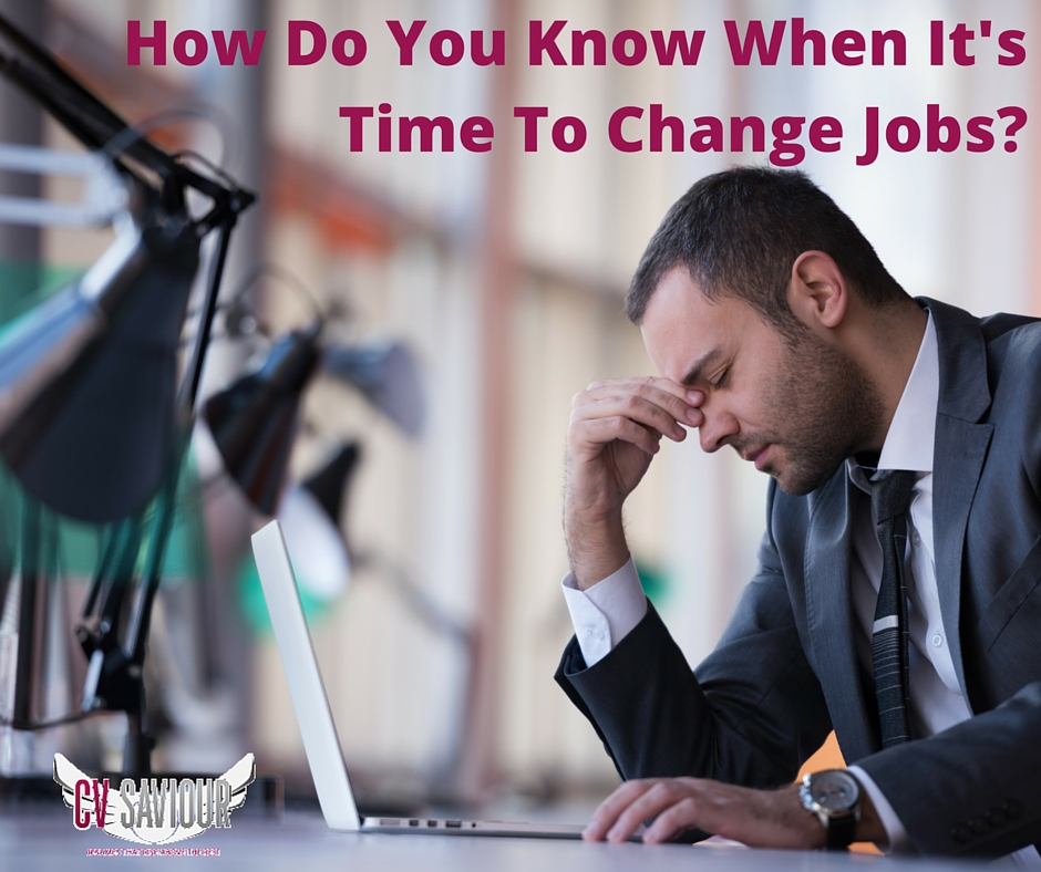 How Do You Know When Its Time To Change Job- Is It Time To Quit Your Job- http---bit.ly-1izvHxm